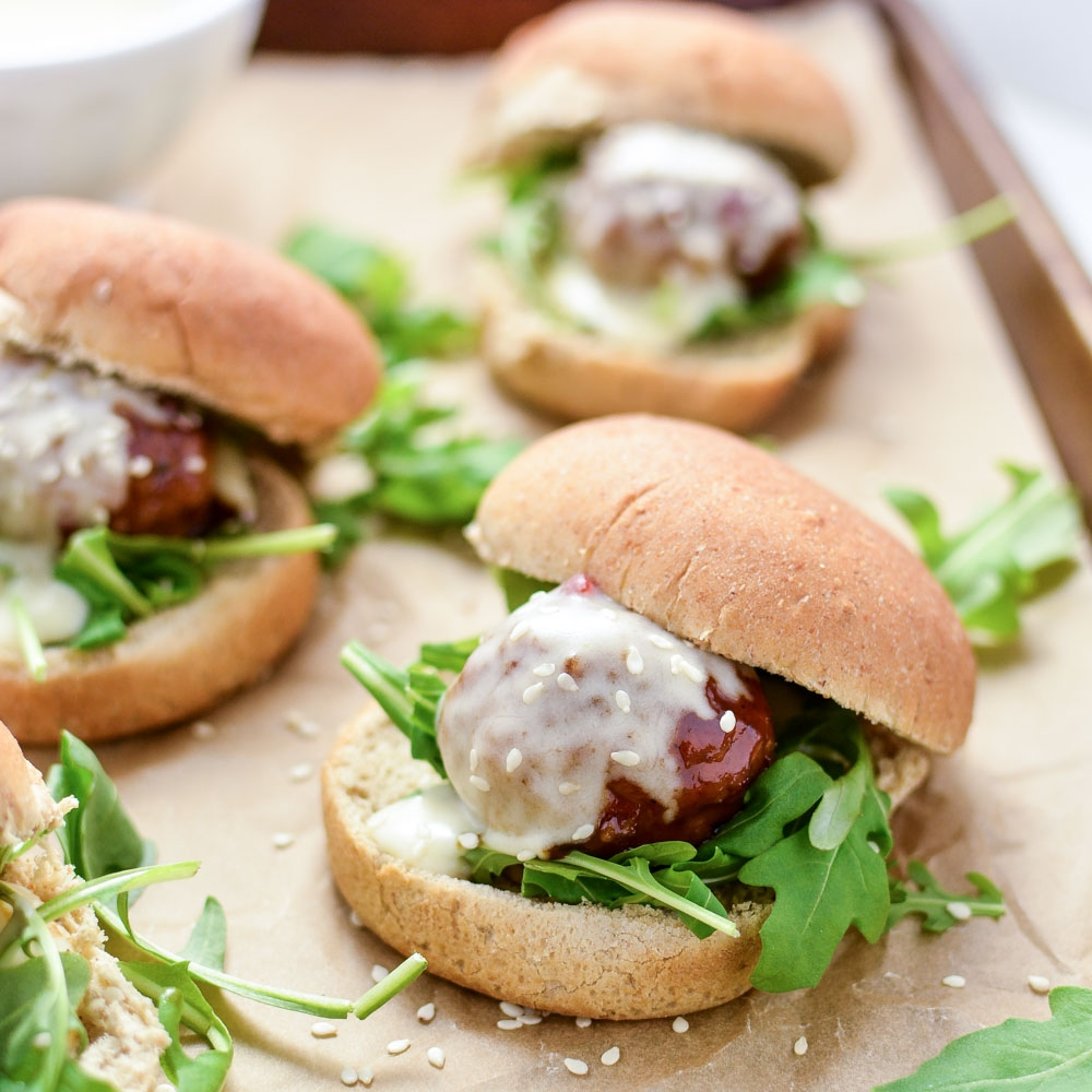 Copy of Asian Meatball Sliders