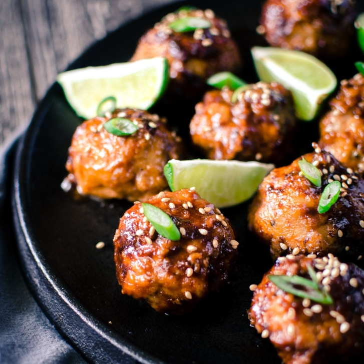 Copy of Asian BBQ Chicken Meatballs