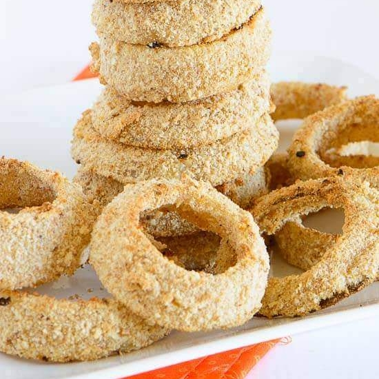 Copy of Baked Beer Battered Onion Rings