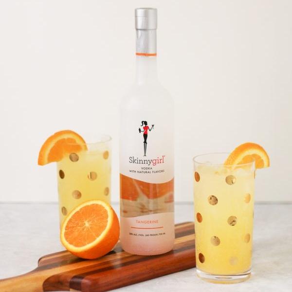 Tangerine Vodka Spritzer