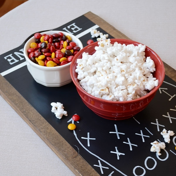 Easy DIY Football Tray by Story Piece