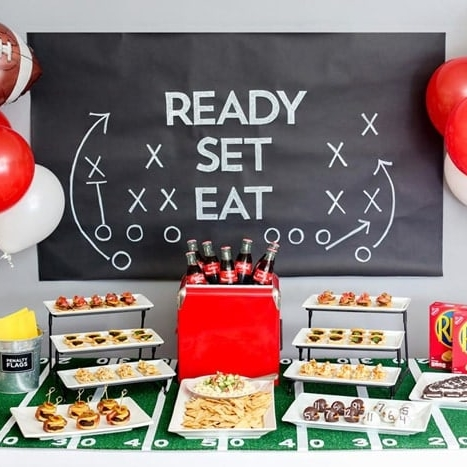 How to Throw a Touchdown of a Game Day Party by Good Life Eats