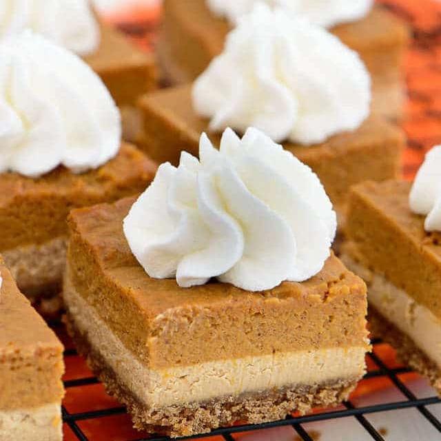 Dulce de Leche Pumpkin Pie Bars