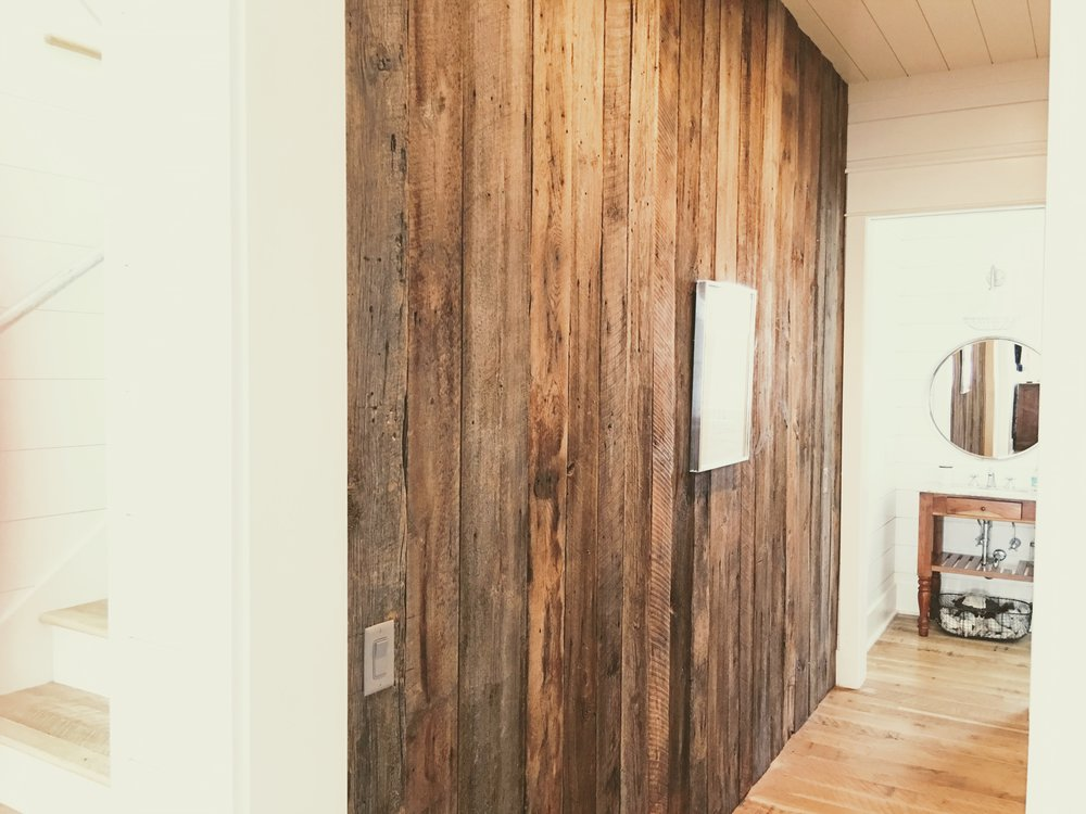 CUSTOM HOME ACCENT WALL