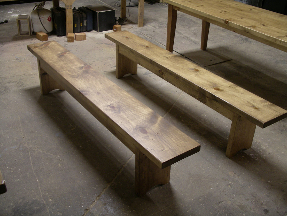 Farmhouse style benches to match table.jpg