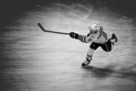"""""""A good hockey player plays where the puck is. A great hockey player plays where the puck is going to be."""""""