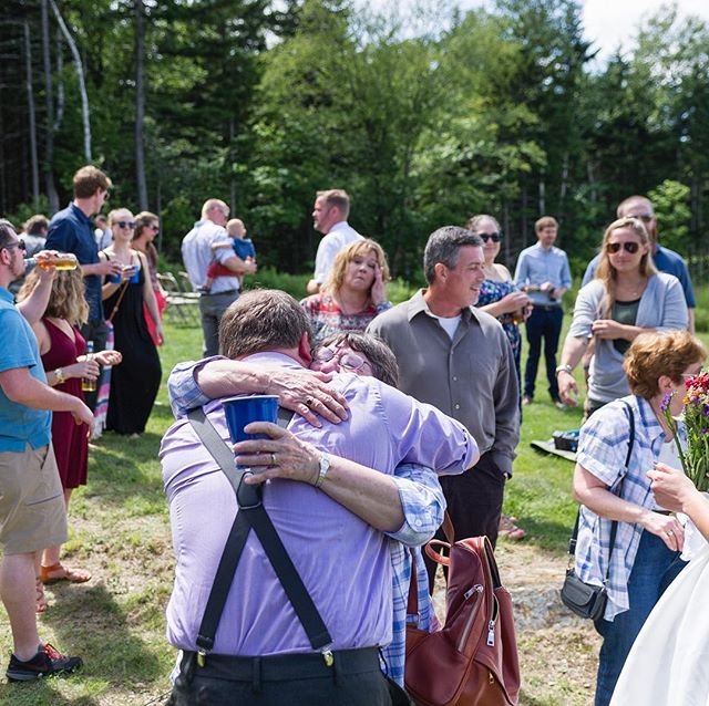 Squeezing tight #vermontweddingphotographer #documentaryweddingphotography #weddingphotojournalism #family #weddingphotography #weddings #weddingseason #smallwedding