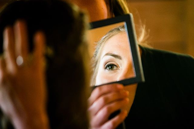 "Really enjoyed Kari & Evan's late summer wedding on Lake Champlain. Working title: ""Bride's Eye View"" #wedding #weddingphotography #weddingphotographer #weddingphotojournalism #weddingphotojournalist #documentaryweddingphotography #documentaryweddingphotographer #bride #nikon #mirrors"
