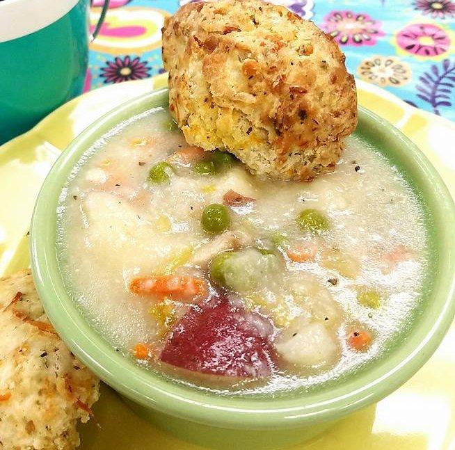 In My PJs Chicken Pot Pie Soup