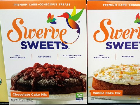 Swerve Sweets Keto Cake Mixes with Erythritol