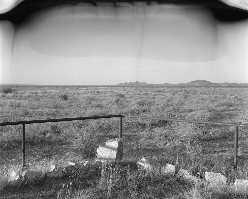 """New Mexico #1, Waxed Inkjet Print, 40"""" x 50"""""""