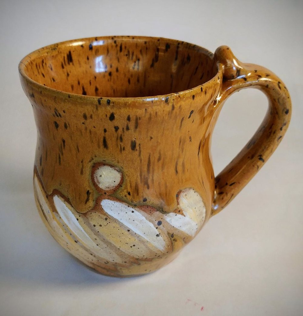 "Speckled Cup, Ceraminc, 3"" x 5"""
