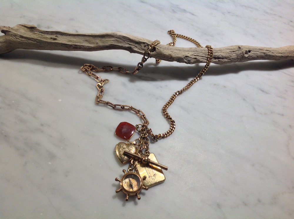 Vintage Juxtaposition, Jewelry, 30""