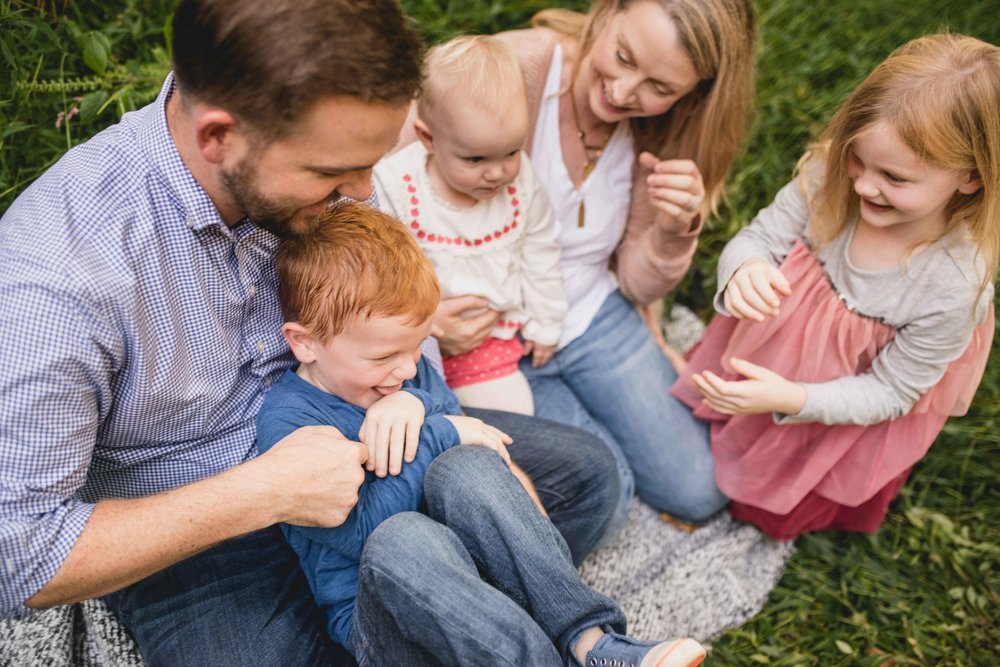 Theodore Roosevelt Island Park Family Lifestyle Mini Session
