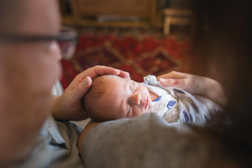 Arlington Virginia In-home Newborn Lifestyle Photographer
