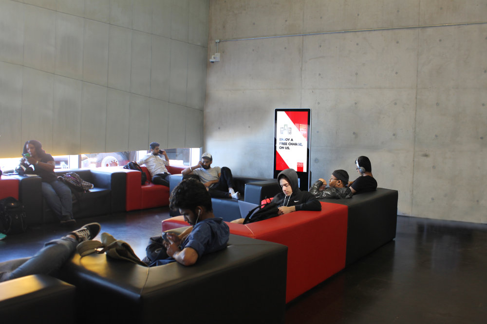 Student lounges and centers