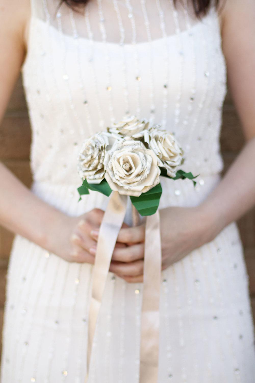 Sheet Music Bridal Bouquet