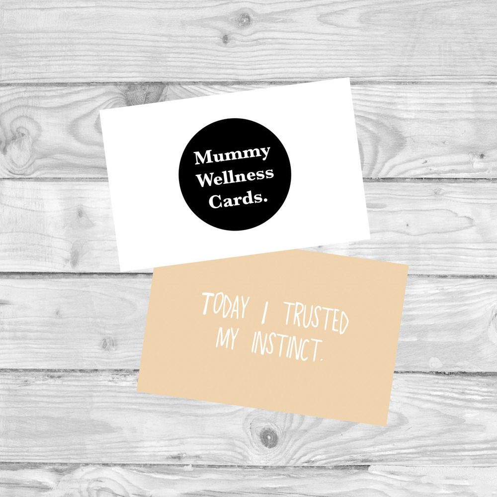 Mummy Wellness Cards  cards to promote positive wellbeing in mummies.  £4.80   SHOP NOW
