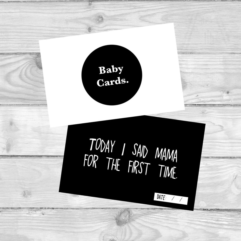 Baby Milestone Cards  MILESTONE CARDS TO MARK ALL YOUR BABY'S FIRSTS.  £4.80   SHOP NOW