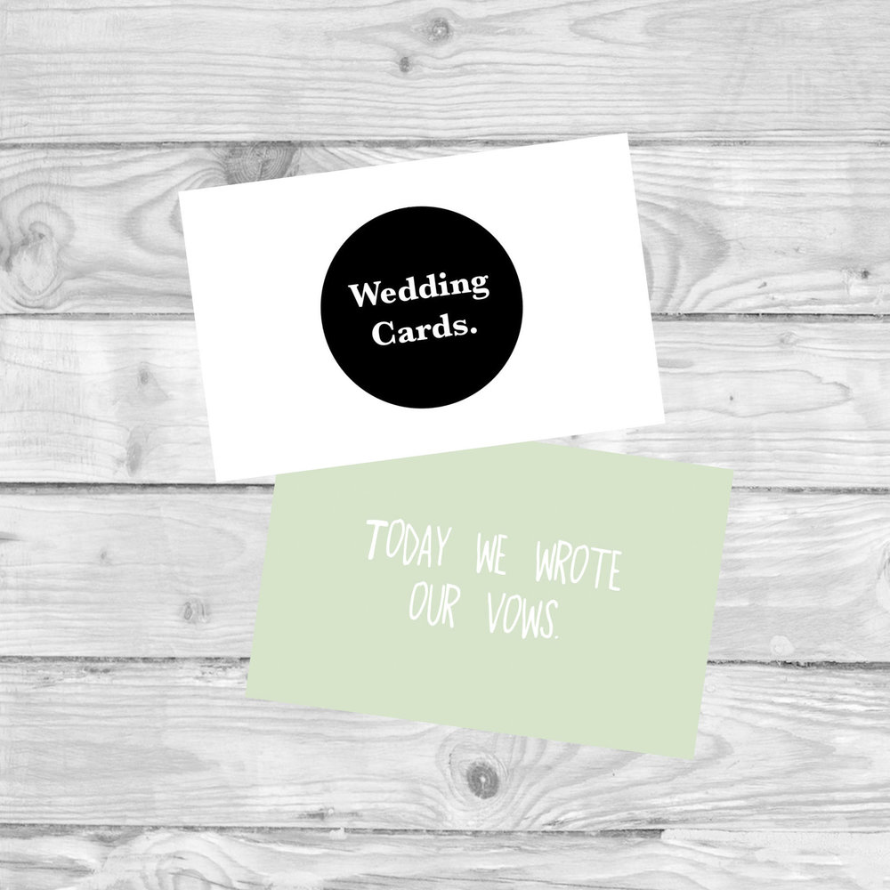 Wedding Milestone Cards  MILESTONE CARDS TO MARK YOUR WEDDING PLANNING.  £4.80   SHOP NOW