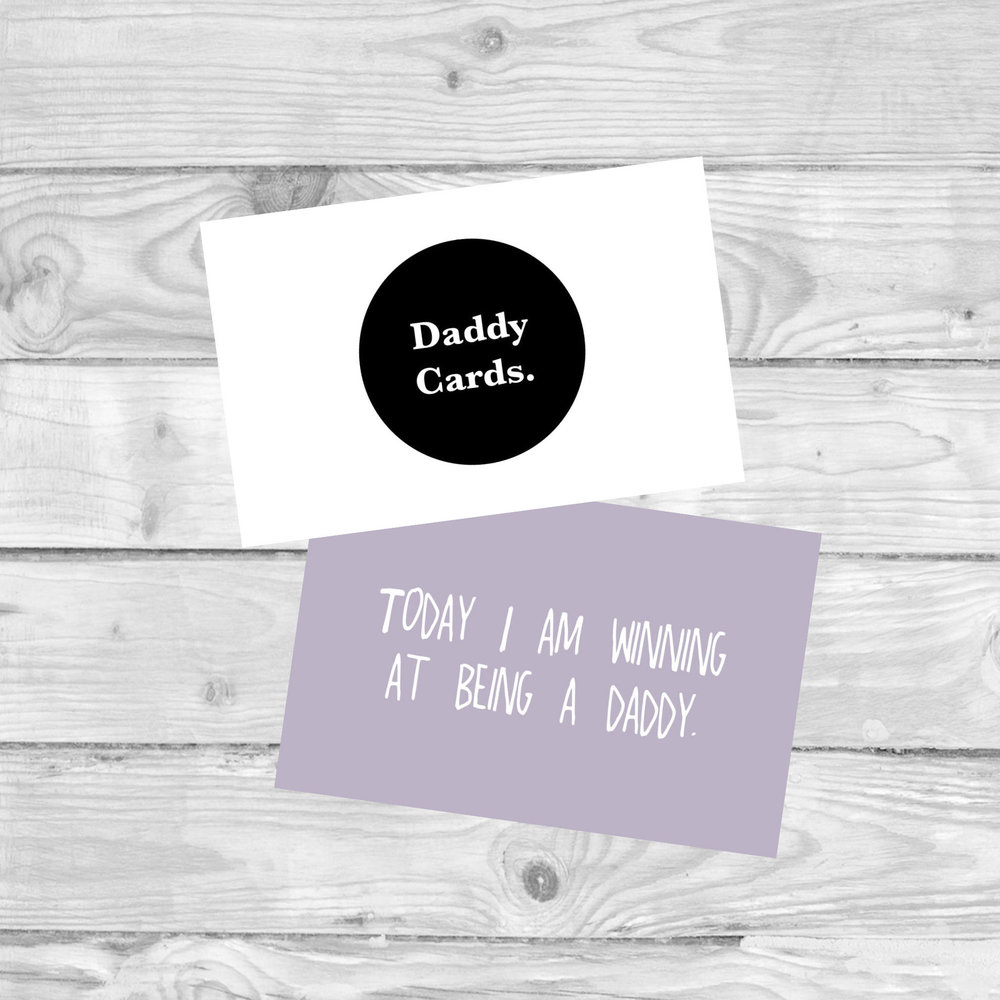 Daddy Milestone Cards  MILESTONE CARDS TO MARK THOSE daddy SMALL WINS.  £4.80   SHOP NOW