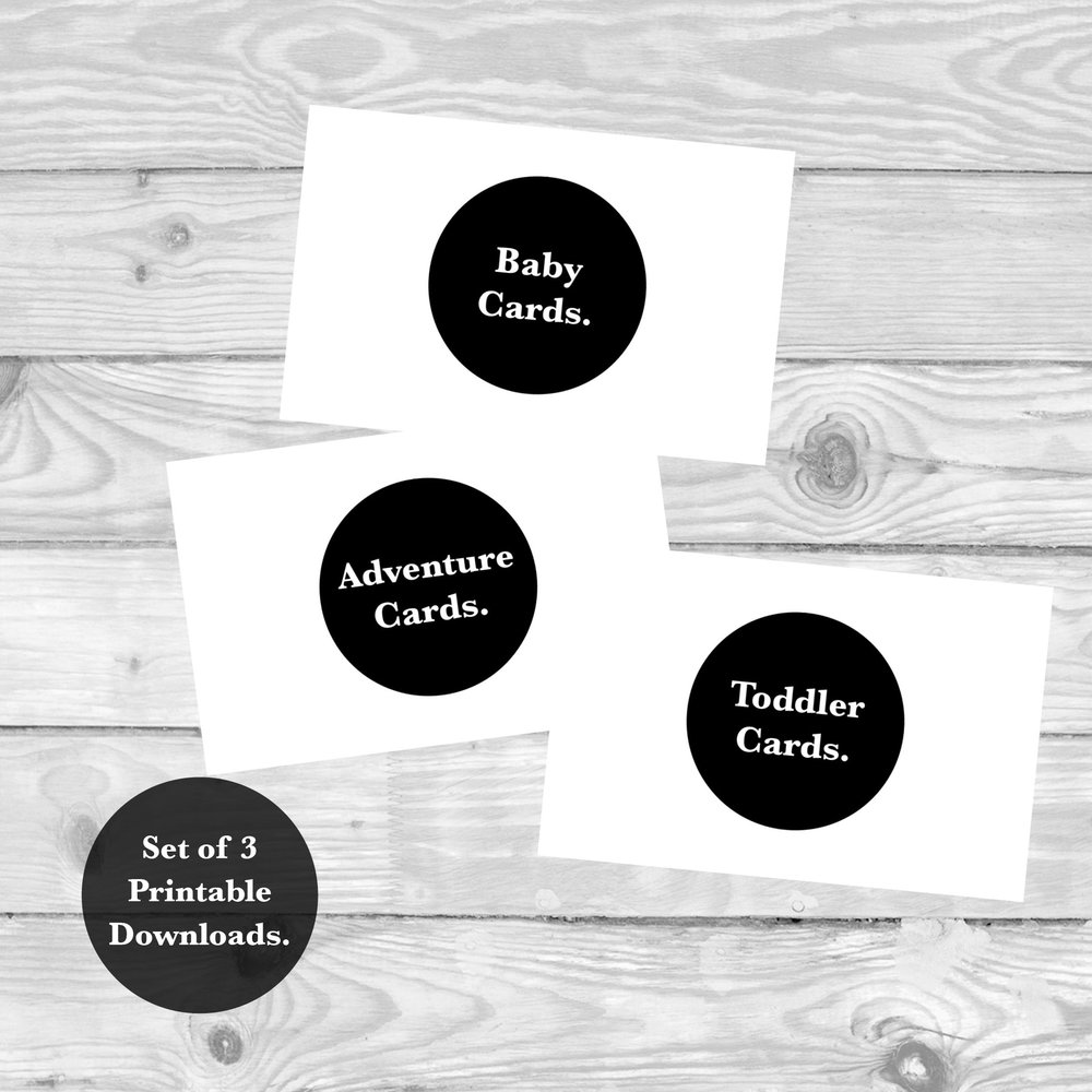 SET OF BABY, TODDLER AND ADVENTURE MILESTONE CARDS  £12   SHOP NOW
