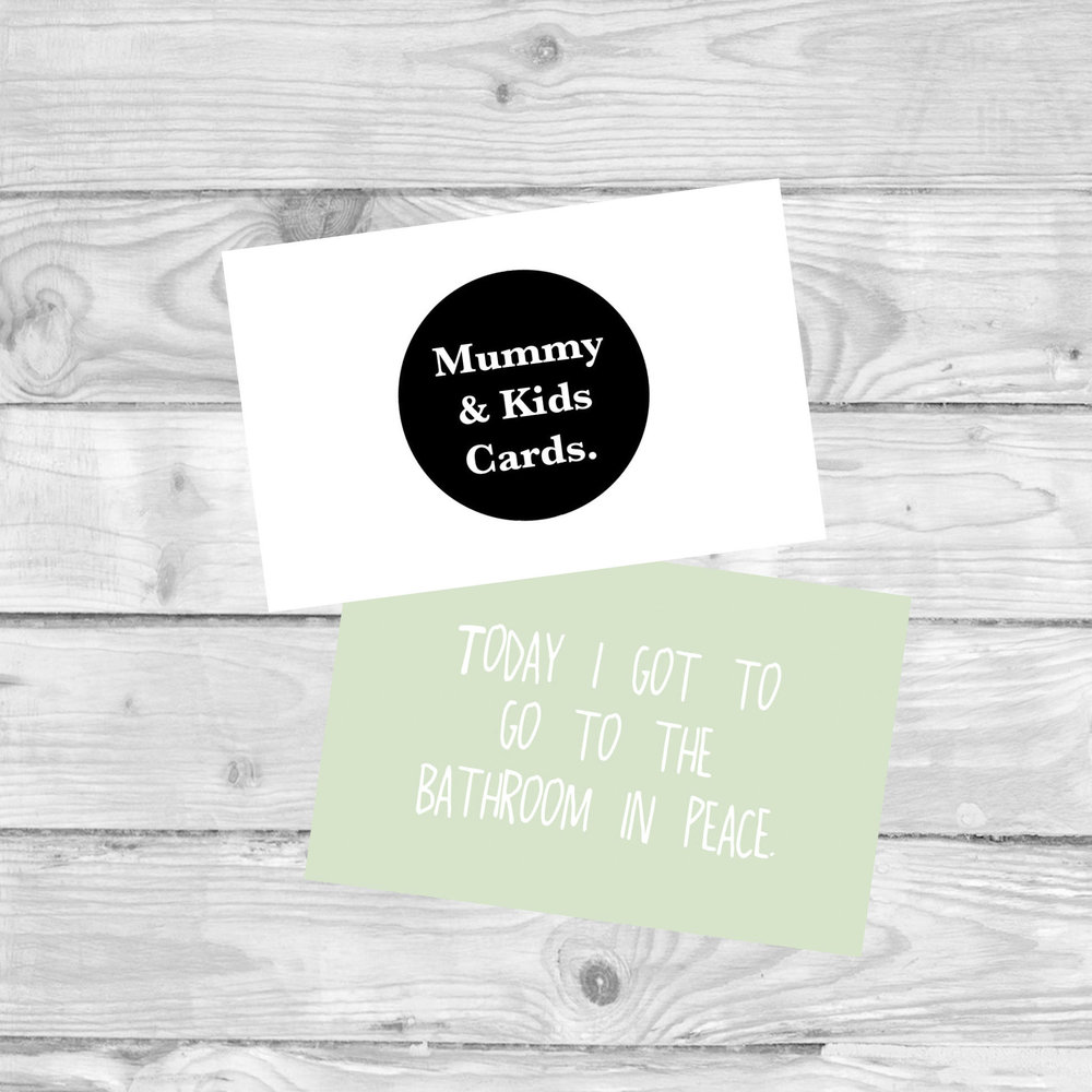 MUMMY AND KIDS MILESTONE CARDS  MILESTONE CARDS TO MARK THOSE mummy SMALL WINS.  For mummies with kids aged approximately 5 - 11 years old.  £4.80   SHOP NOW