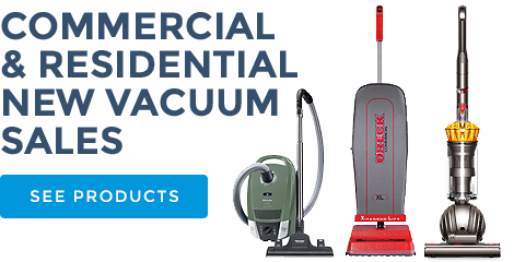 commercial residential new vacuum sales