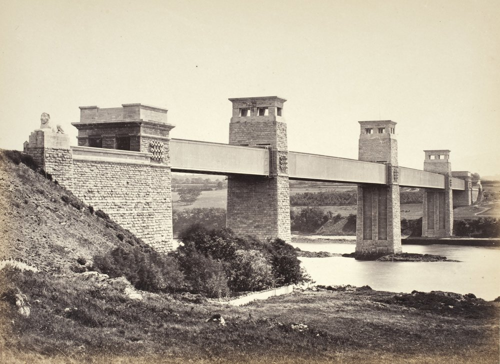 Bangor,_The_Britannia_Bridge,_From_Anglesey_(258)_LACMA_M.2008.40.202.9.jpg