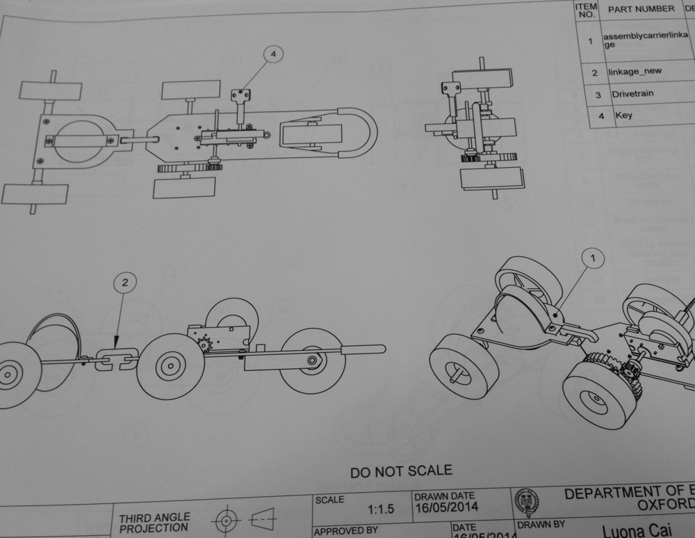 Mechanical CAD Work