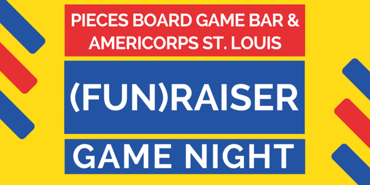fun raiser game night at pieces americorps st louis