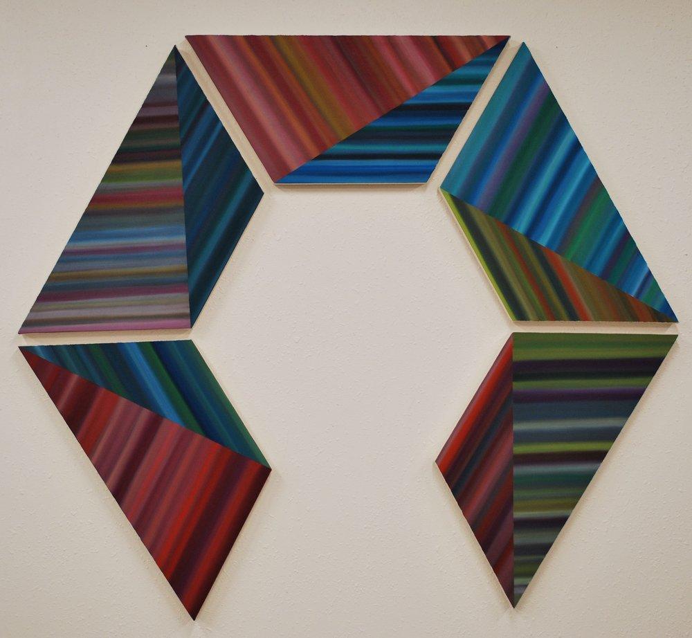 """""""Trapezoid Series (Spring)""""by Louis Vega Treviño"""