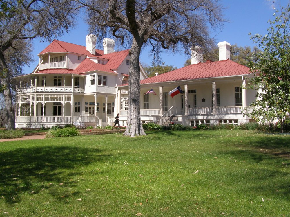 Brackenridge Villa. The Native Wildlife & Habitat Celebration is held on the front lawn of Brackenridge Villa.