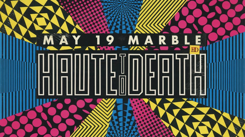 Haute To Death - May 19th - Marble Bar - It's the third Saturday of the month already, so you know what that means! Haute To Death - an Ann Arbor native currently based out of Portland, OR. His unique and airy style of synth forward mixing should be a perfect warm up for Movement weekend.