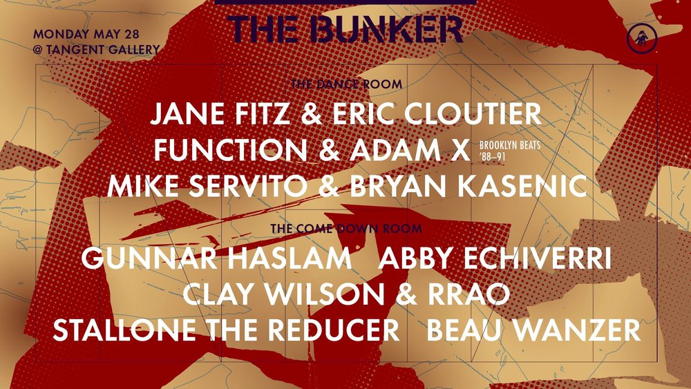I.T. presents 15 Years of The Bunker - May 28th- Tangent Gallery/Hastings Street Ballroom - Celebrate 15 years of the Bunker! Based out of NY the Bunker has been partnering with I.T. in Detroit to bring amazing shows for over a decade. This year is a special party and part of many that will be happening worldwide for Bunker throughout the year. Jane Fitz and Mike Servito are headlining. With support in the comedown room by Gunnar Haslam, Abby Echiverri, Clay Wilson, Beau Wanzer, and Stallone The Reducer