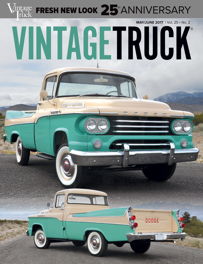 May/June 2017  Vintage Truck Cover