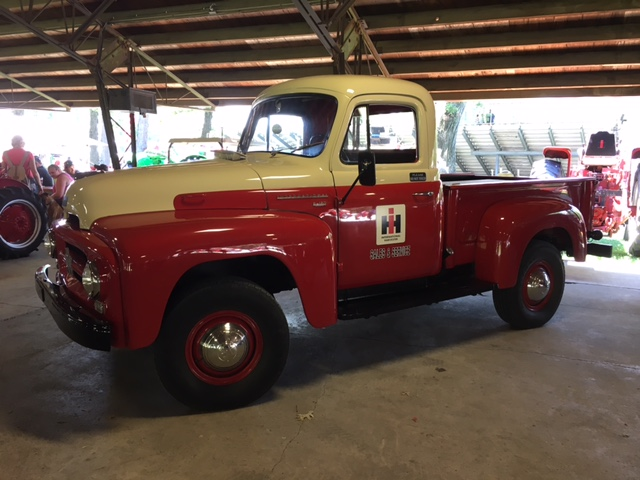 This 1955 International Harvester R120 4WD is from the Hardesty Collection in Valparaiso, Indiana, and was part of the featured display at Crown Point, Indiana, July 7-9, 2017.