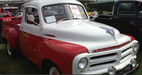 All makes, models, and years of cars and trucks are welcome at the Duluth, Minnesota, show. (Photo courtesy: Studebaker Drivers Club website.)