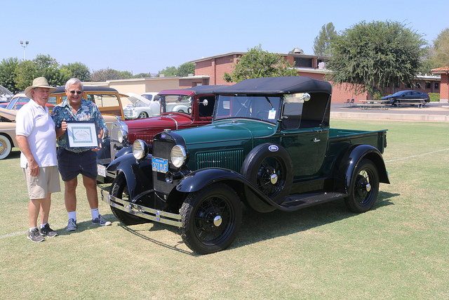 Of course you'll see Model A trucks at the show in Chatsworth, California, on August 20. But all other trucks are welcome, too.