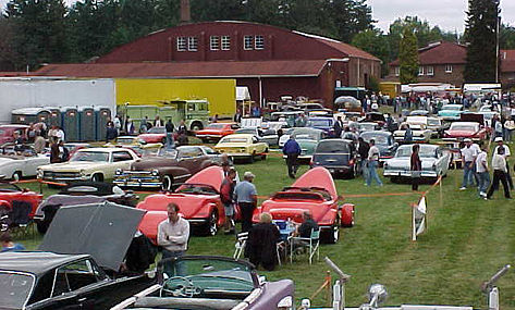 There will be more than 1,000 vehicles on the grounds for the 40th Annual LeMay Car Show.
