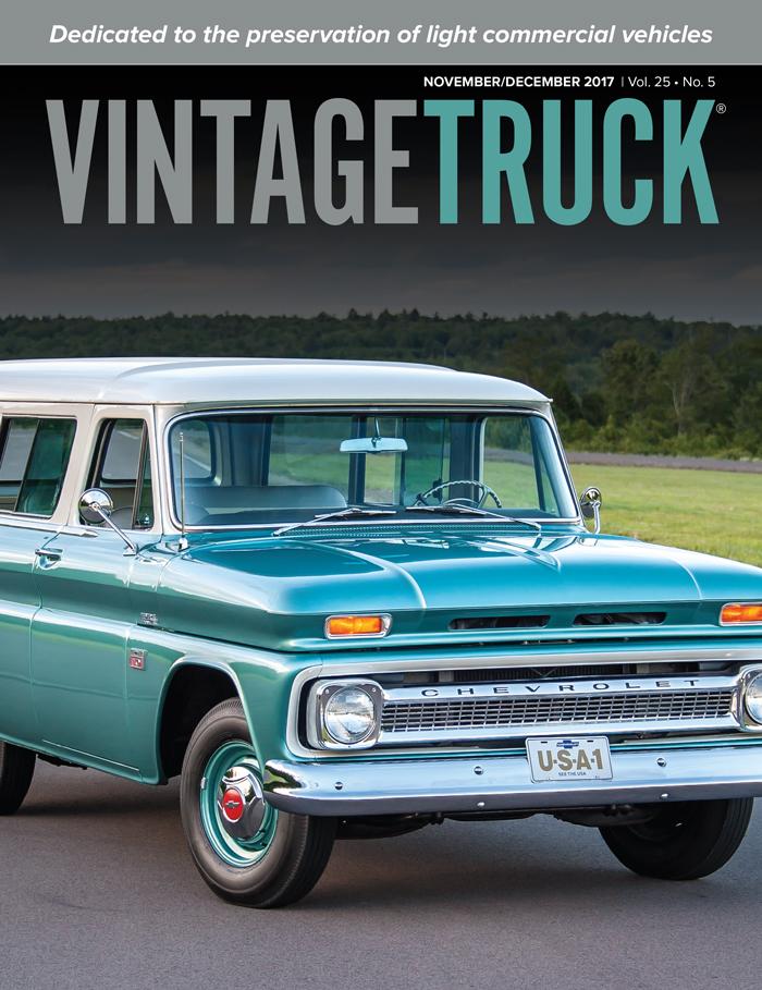 November/December 2017  Vintage Truck Cover