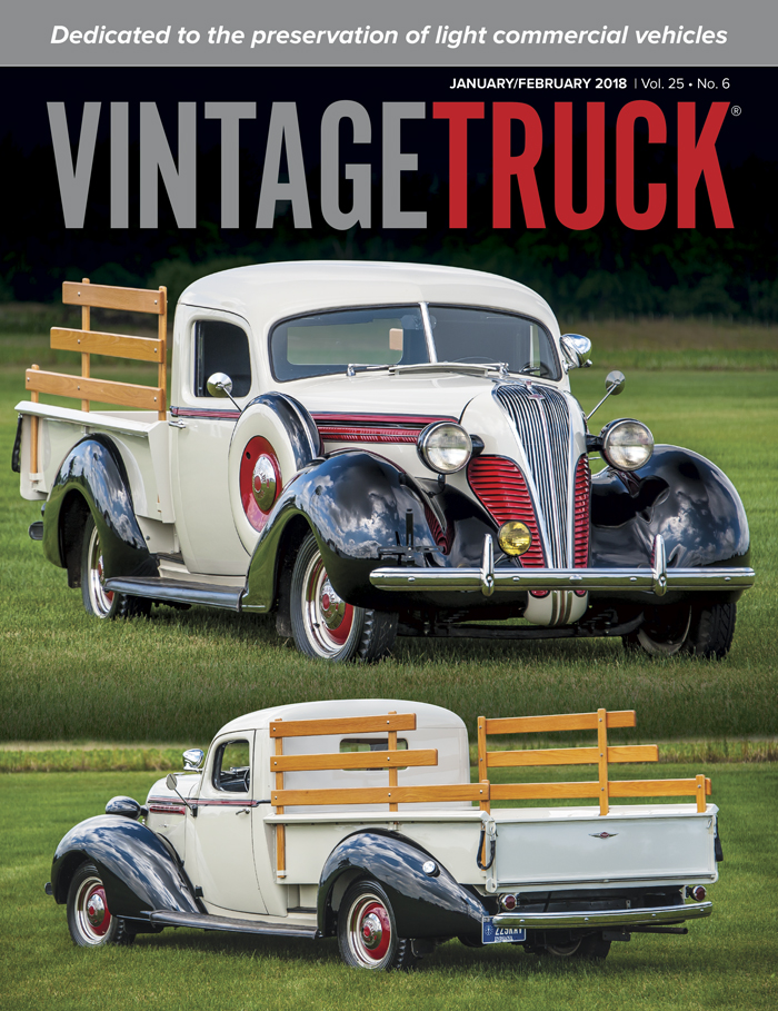 January/February 2018 Vintage Truck Cover