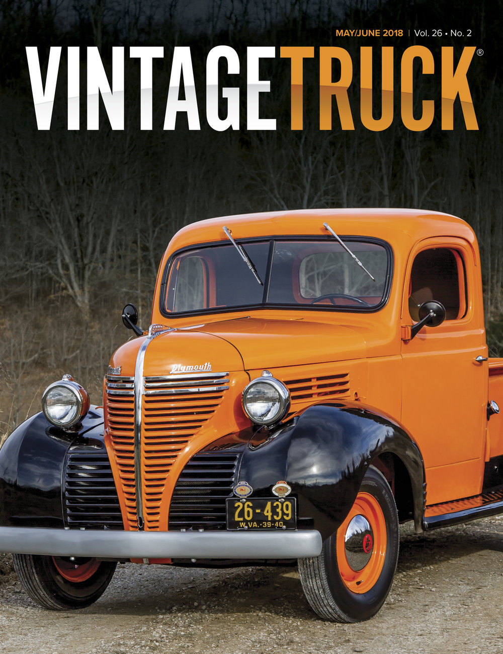 June 2018 Cover Vintage Truck Magazine