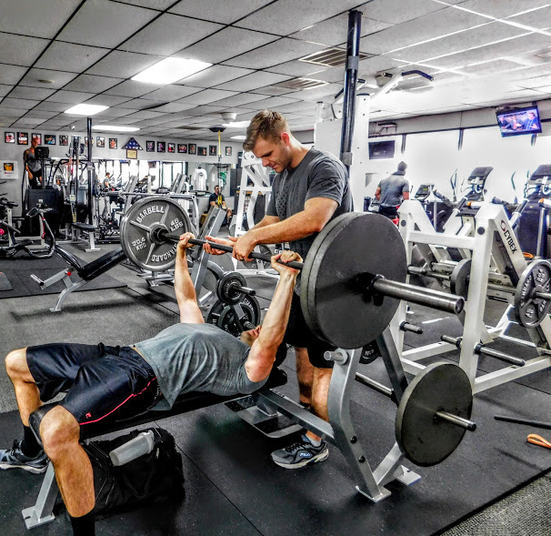 The GYM bench press