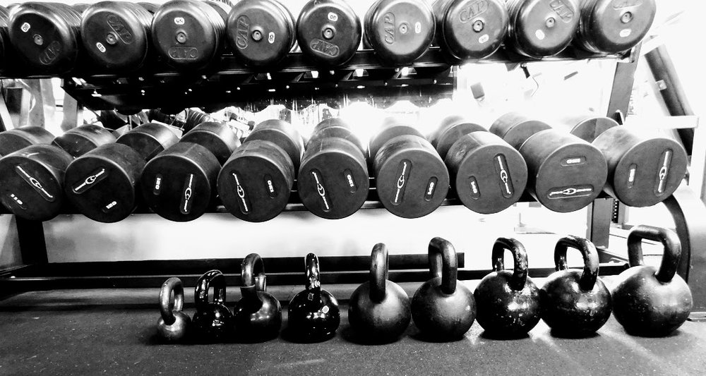 The GYM Dumbbells