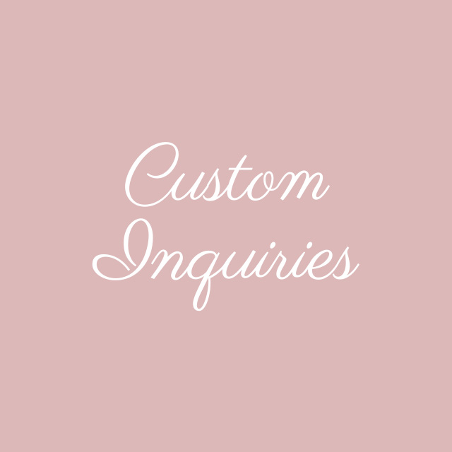 Blooming Flourishes_Modern Calligraphy_Custom Inquiries