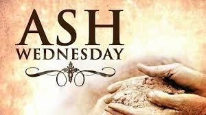 Ash Wednesdat dust
