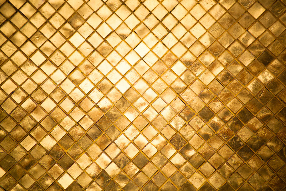 golden wall