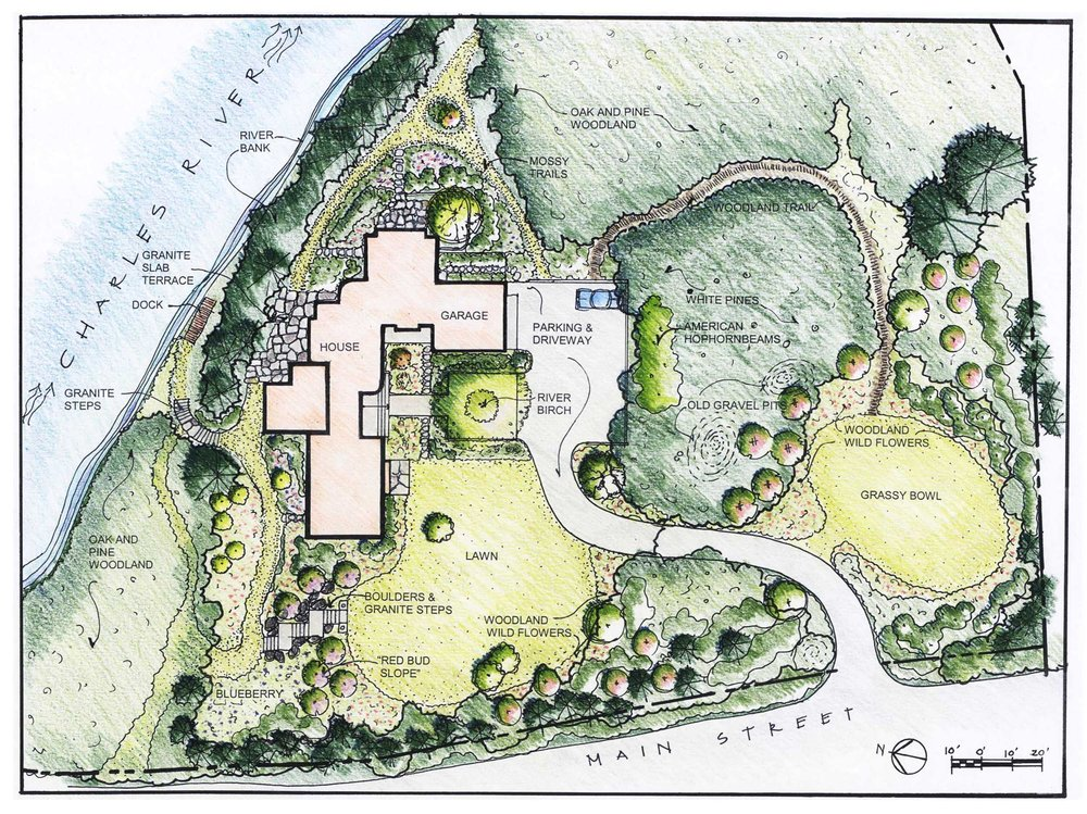 Landscape Design Private Residence Dover