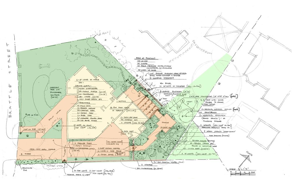 Thomas Wirth Associates garden design at Brattle Street